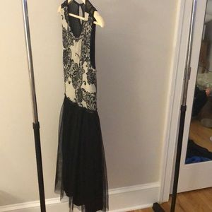 Anthropologie holiday cocktail dress